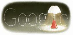 Gae Aulenti : La lampada a pipistrello nel doodle