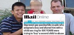 Mark Newton e Peter Truong : Coppia gay adotta bimbo violentato per anni e messo in vendita