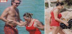 Simona Ventura al mare prima di Selfie