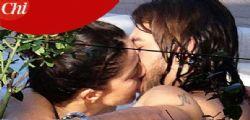 Claudia Gerini bacia il toy boy Andrea Preti :  che passione!