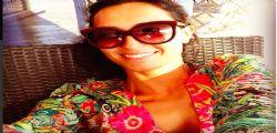 Caterina Balivo hot mostra il decoltè a Malindi