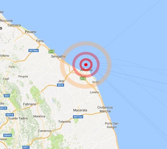 Terremoto Oggi Ancona
