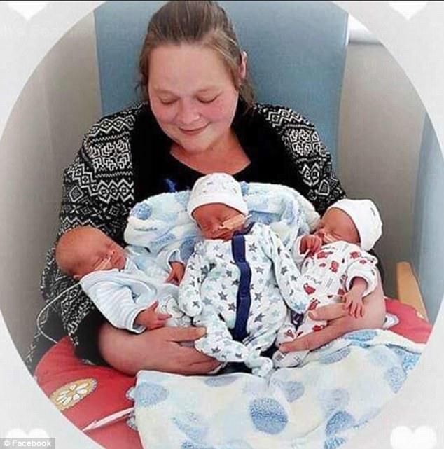 Sarah Owen e i gemelli