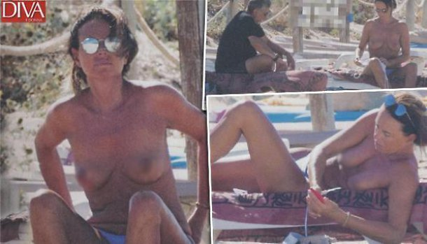Paola Perego in topless