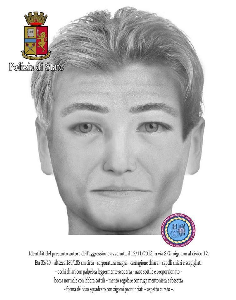 Milano, polizia diffonde identikit presunto aggressore ebreo Graf