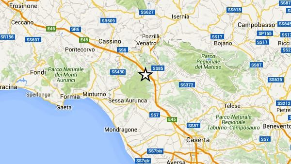 Terremoto Oggi in Campania