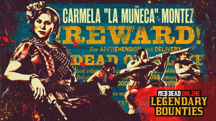 Red Dead Online: Carmela Montez capo banda Del Lobo ricercata