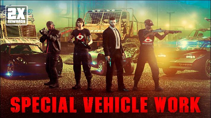 GTA Online: ricompense doppie nelle missioni per veicoli speciali