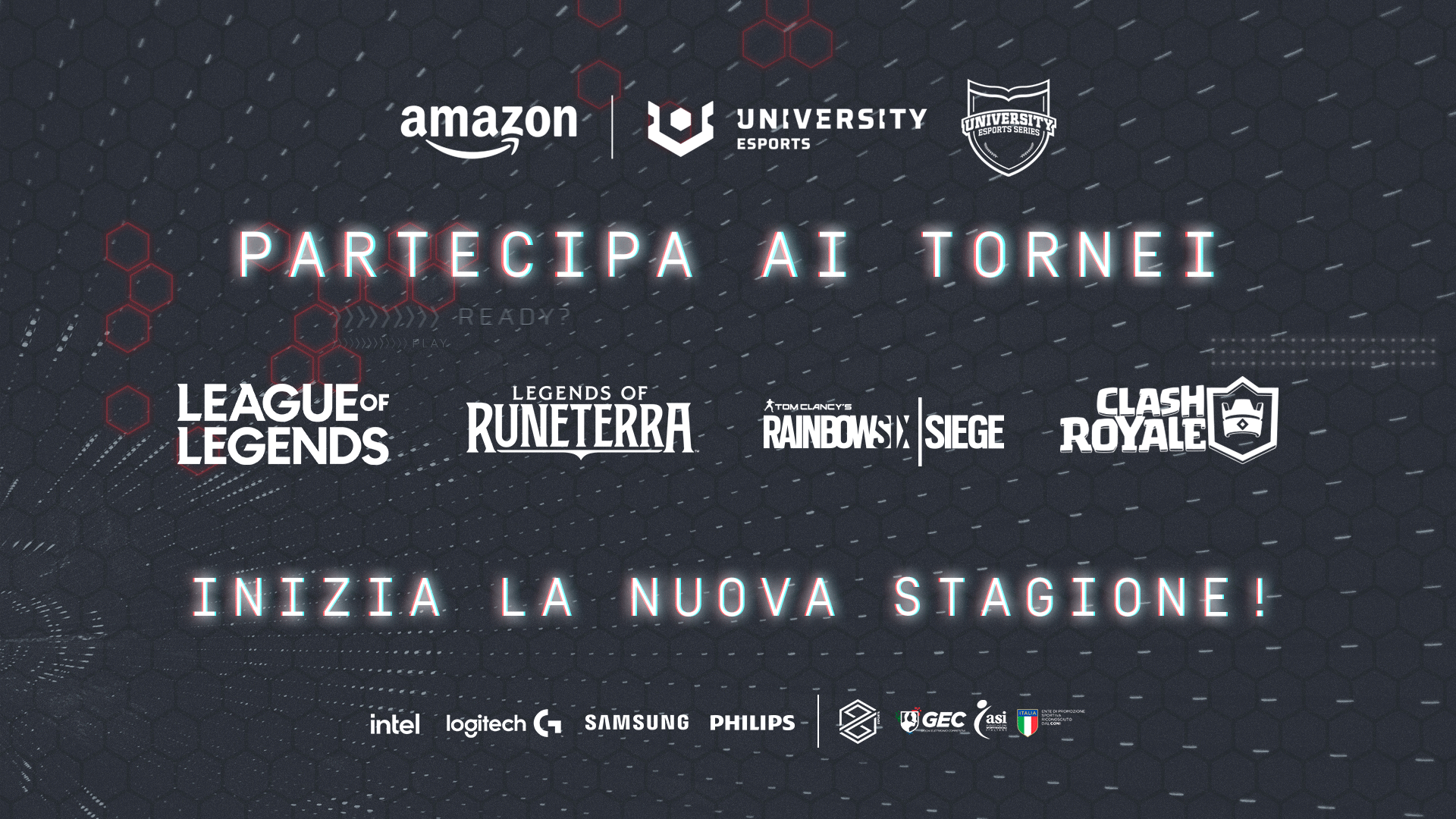 Amazon University Esports: il torneo per atenei italiani