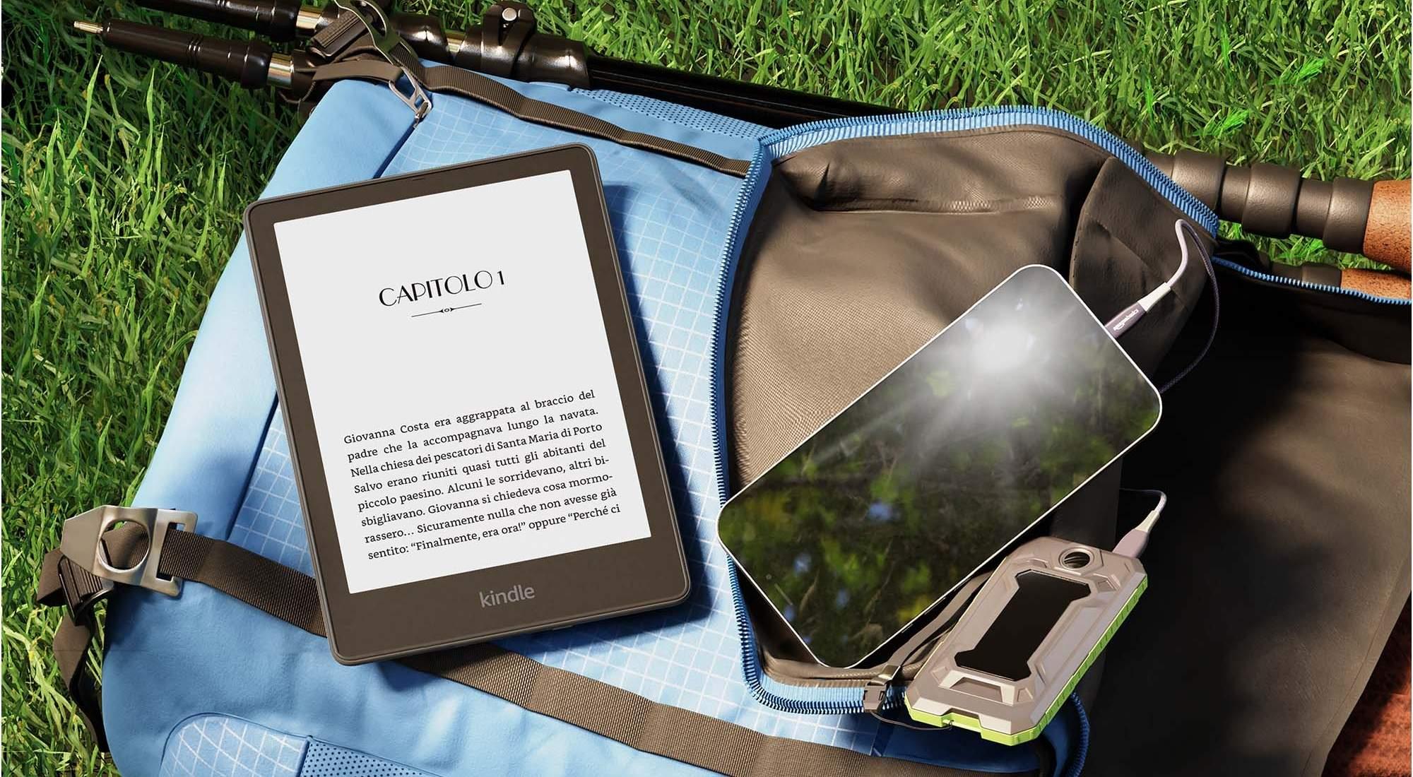 Kindle Paperwhite 2021 è ora disponibile