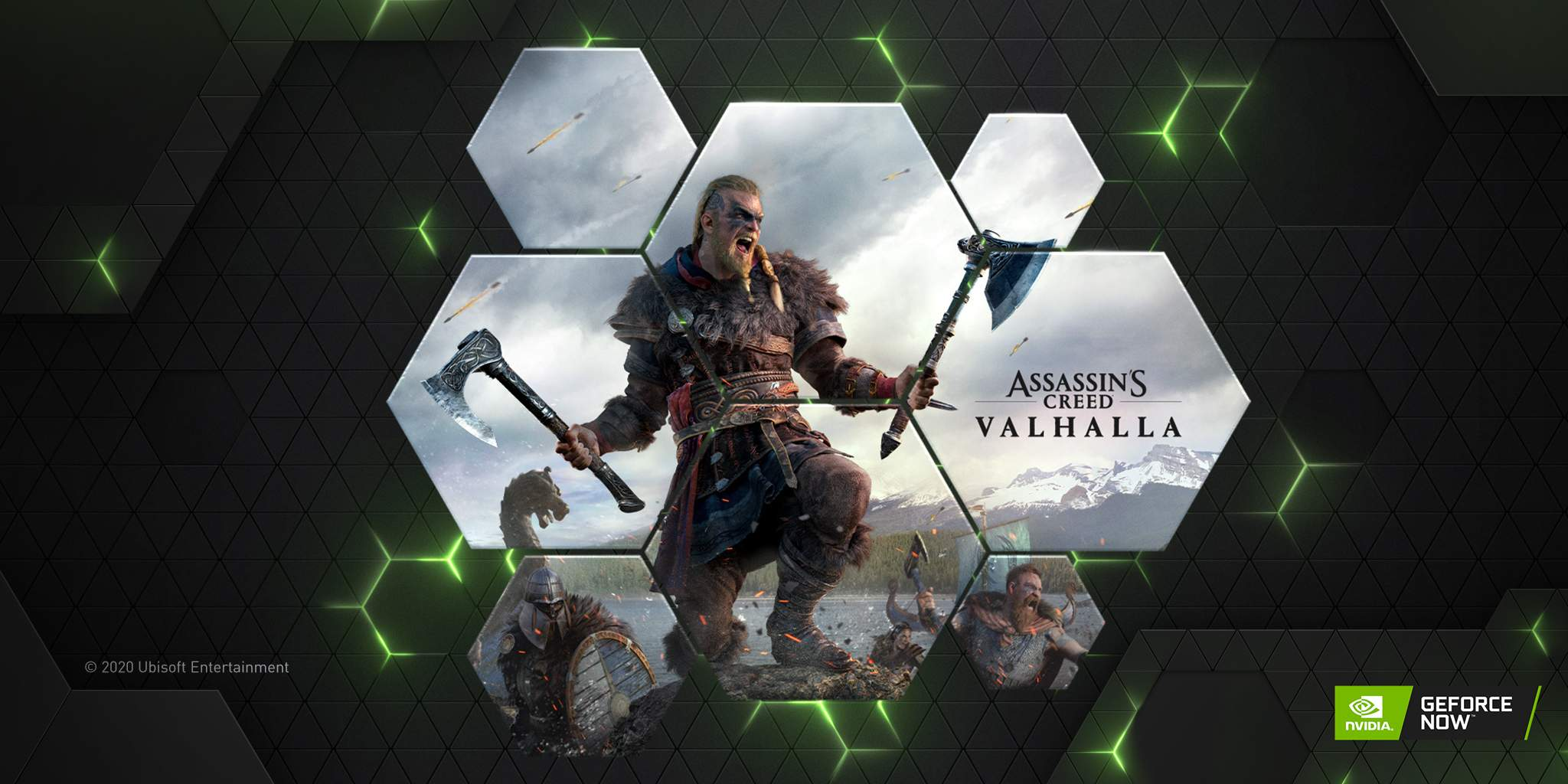 Assassin's Creed Valhalla disponibile su GeForce NOW