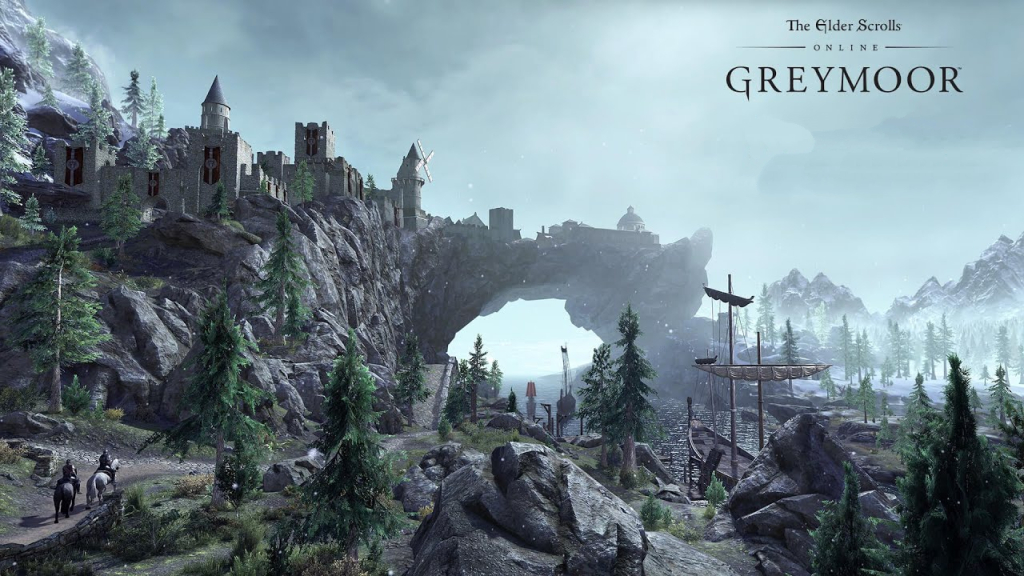 The Elder Scrolls Greymoor  Disponibile su Console