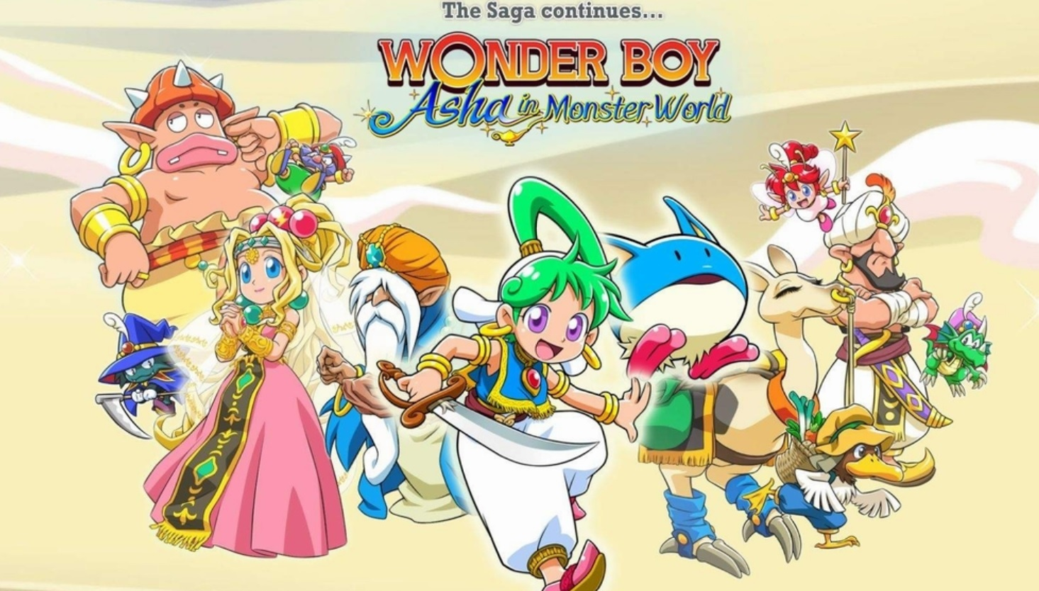 Wonder Boy - Asha in Monster World New Trailer