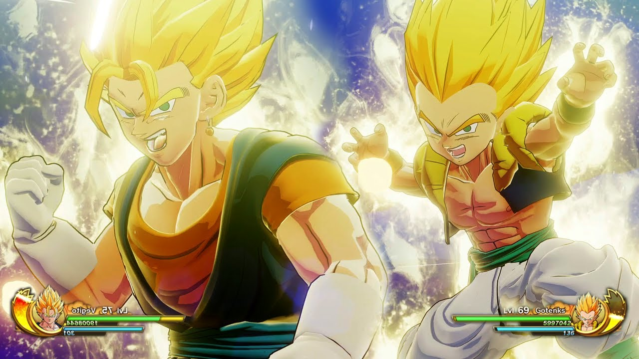 Dragon Ball Z: Kakarot - Gotenks & Vegito Gameplay