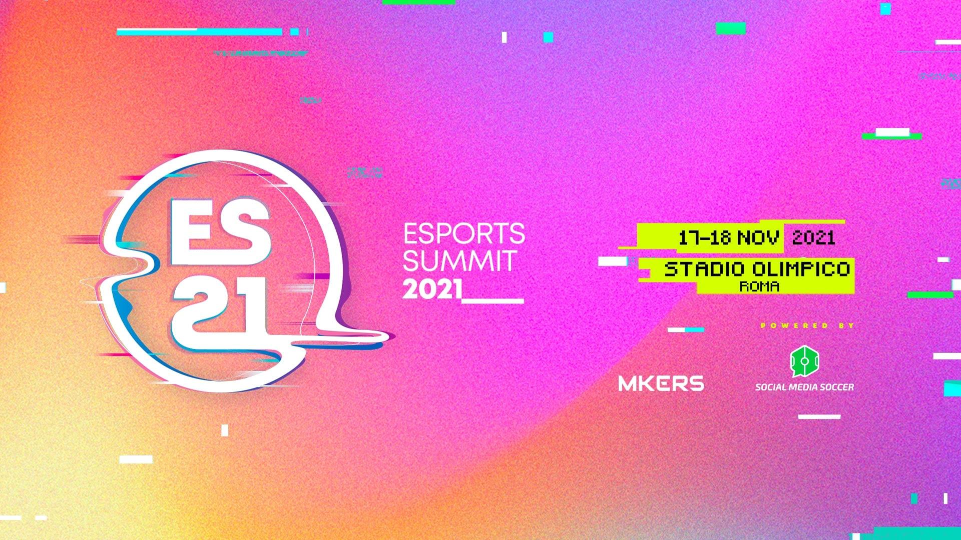 L'Esport Summit 2021 torna a novembre allo Stadio Olimpico di Roma