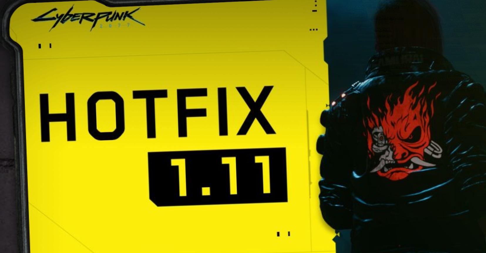 Cyberpunk 2077: Hotfix 1.11 è ora disponibile