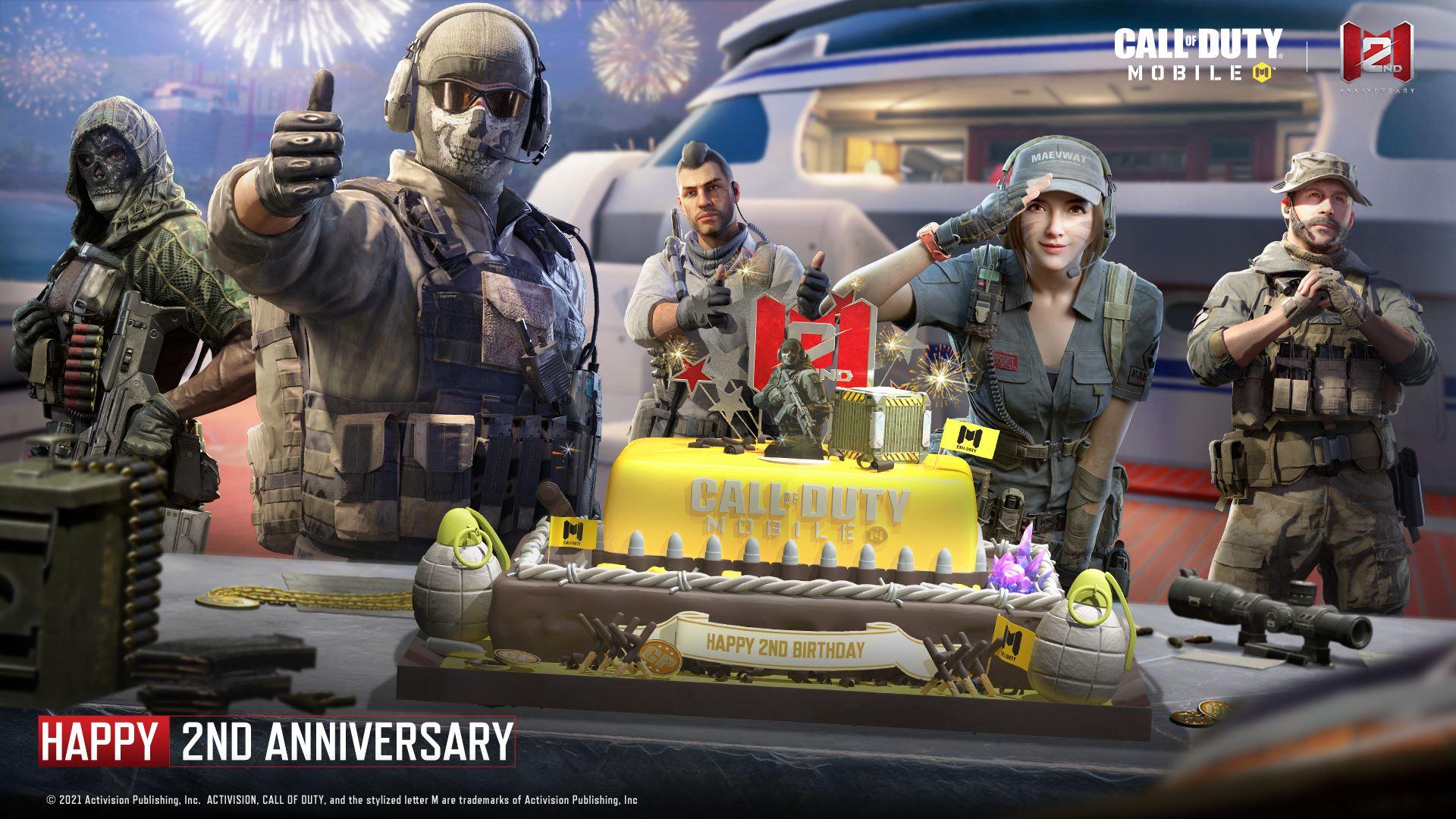 Call of Duty: Mobile celebra il 2° anniversario