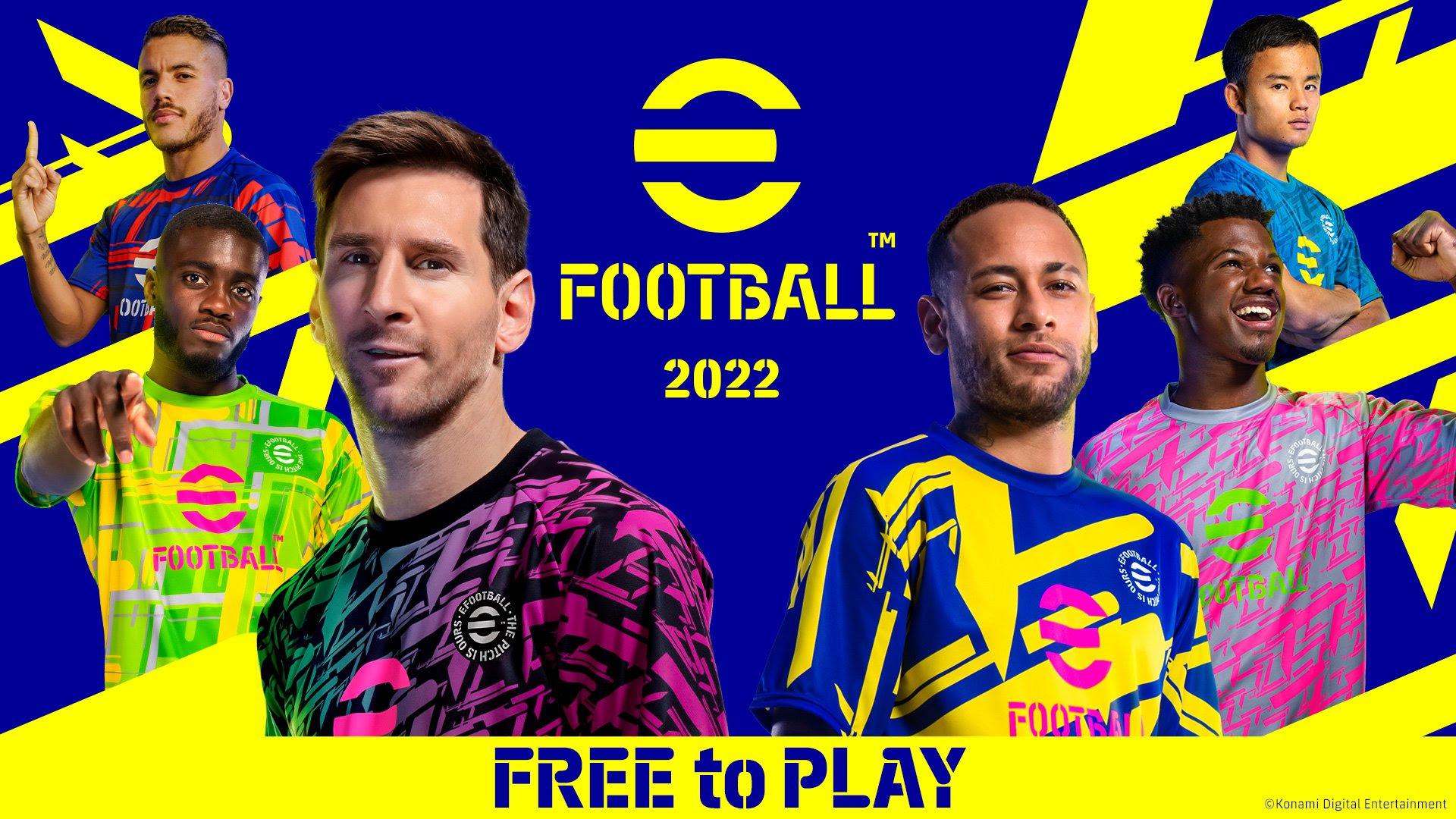 eFootball 2022 disponibile ora