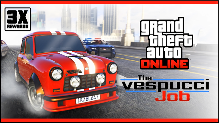 GTA ONLINE: Ricompense triple in The Vespucci Job