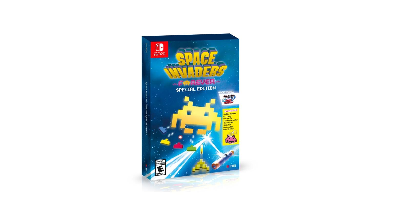 Space Invaders Forever edizione speciale per Nintendo Switch