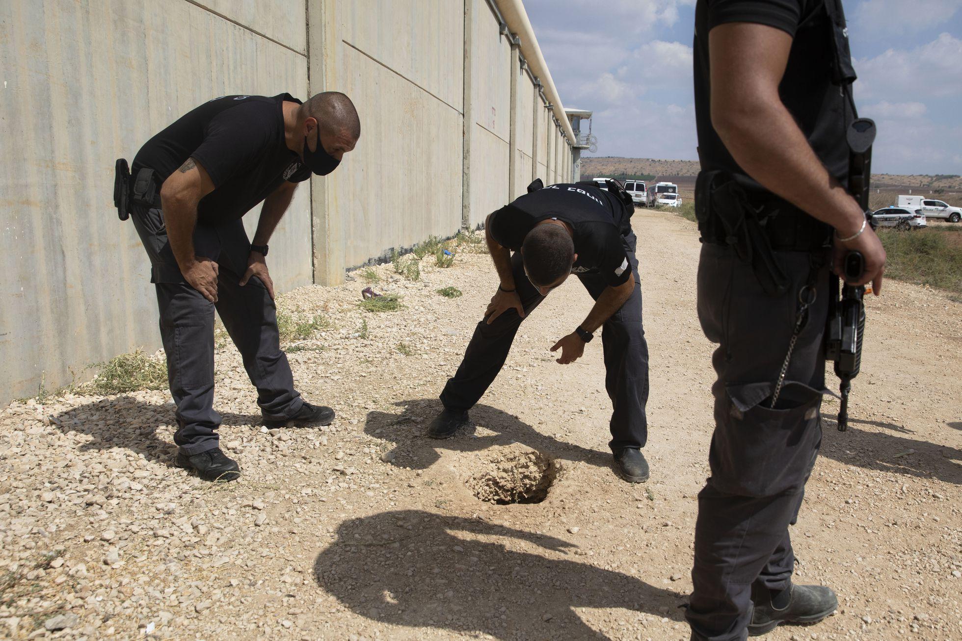 6 prigionieri palestinesi evadono da un carcere di massima sicurezza in Israele