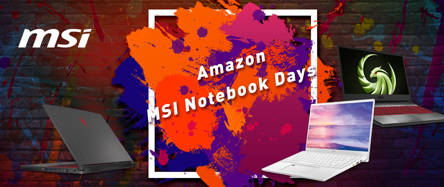 Al via oggi gli Amazon MSI Notebook Days