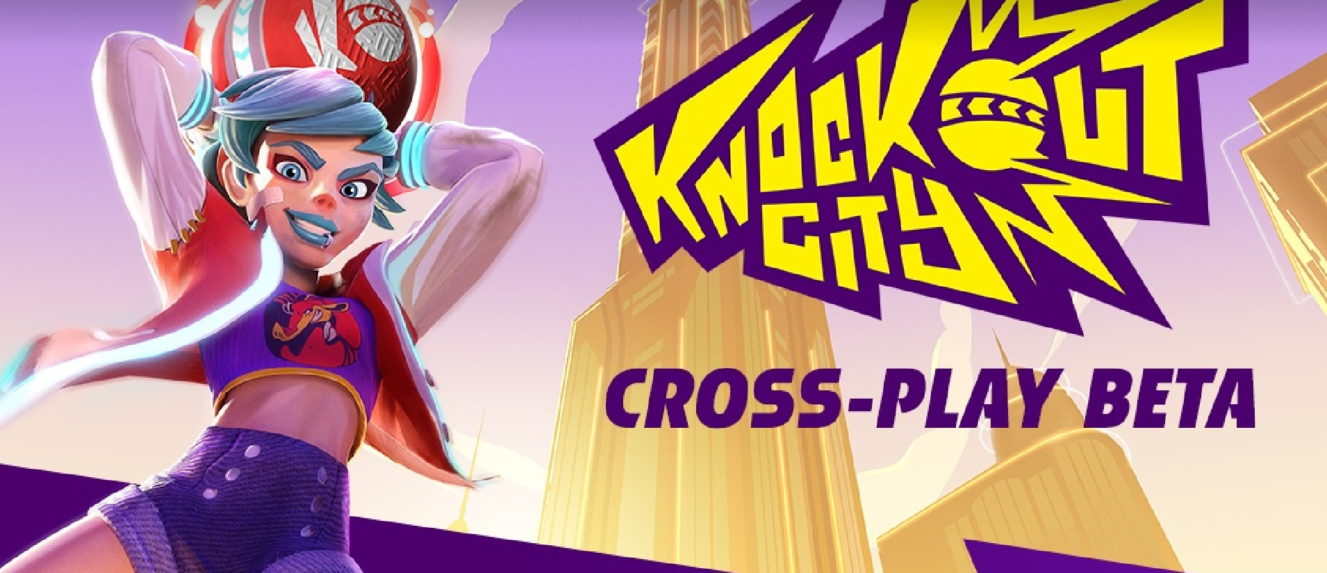 Knockout City Cross Play Beta Infographic