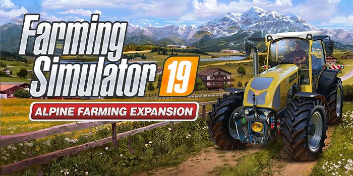 Farming Simulator 19 Premium Edition disponibile la nuova espansione alpina