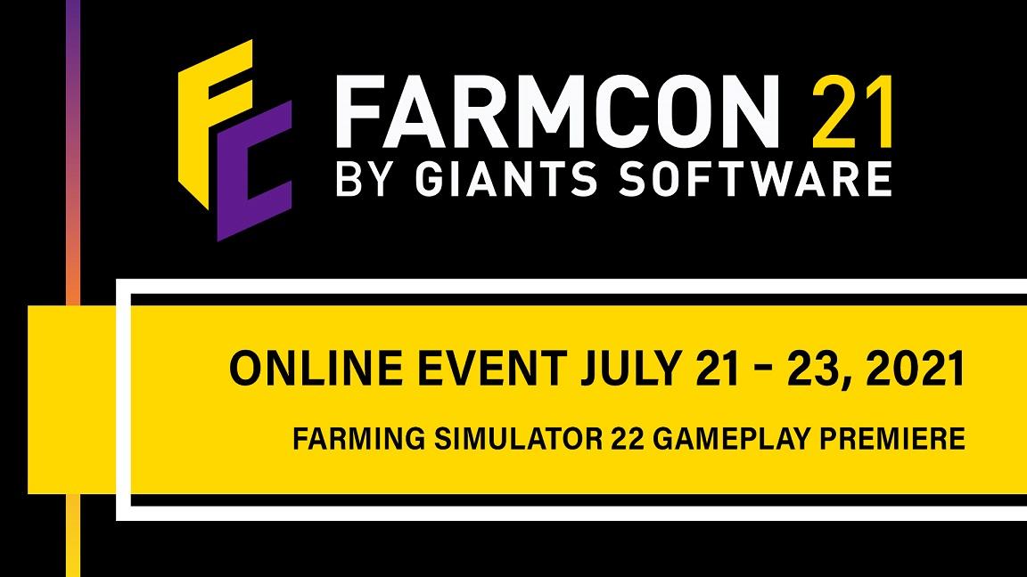 Il gameplay di Farming Simulator 22 verrà mostrato questa sera in anteprima mondiale a FarmCon 21