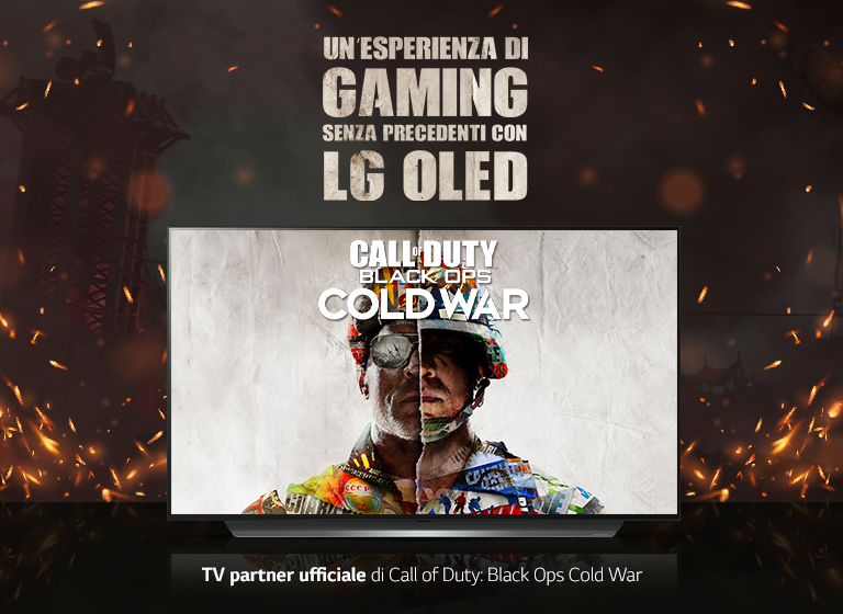 LG PARTNER DI ACTIVISION PER IL LANCIO DI CALL OF DUTY: BLACK OPS COLD WAR