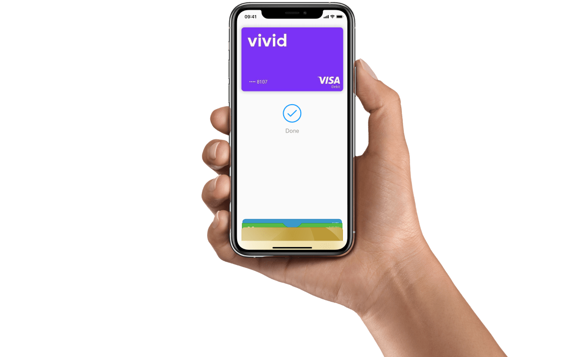 Vivid Money ora integra Apple Pay
