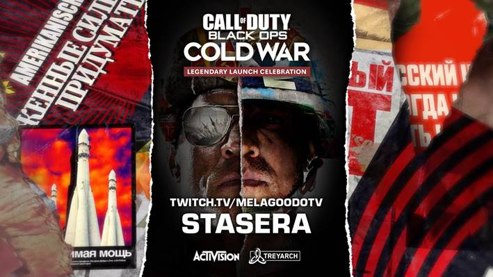 Call of Duty Black Ops: Cold War Evento di lancio