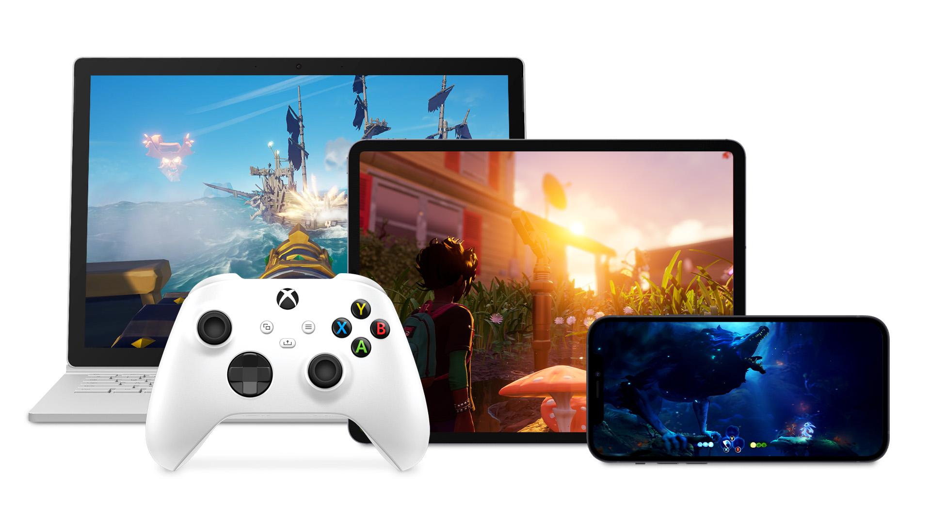 Xbox Cloud Gaming in arrivo su PC, smartphone & tablet Apple da domani