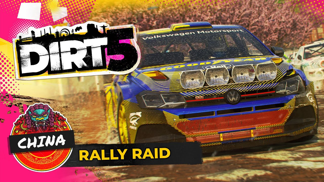 DIRT 5: RALLY RAID IN CINA
