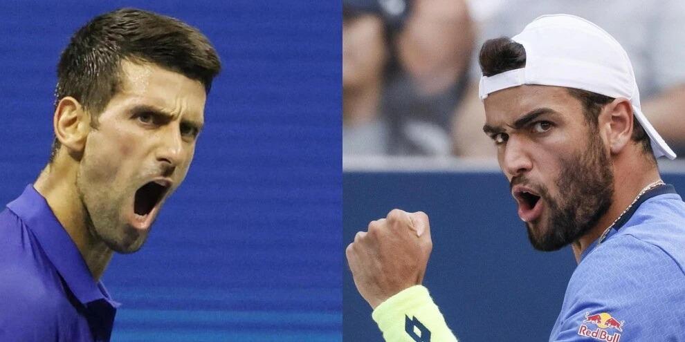 Us Open, sarà ancora una volta Berrettini - Djokovic