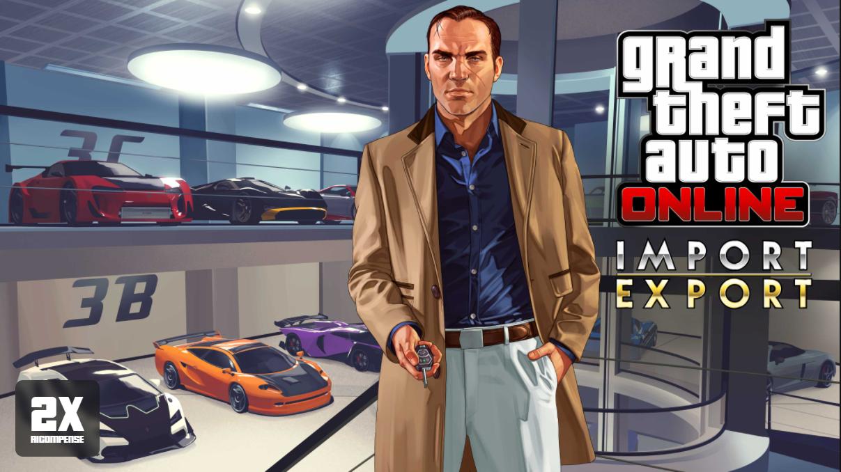 GTA Online: Bonus di Import/Export