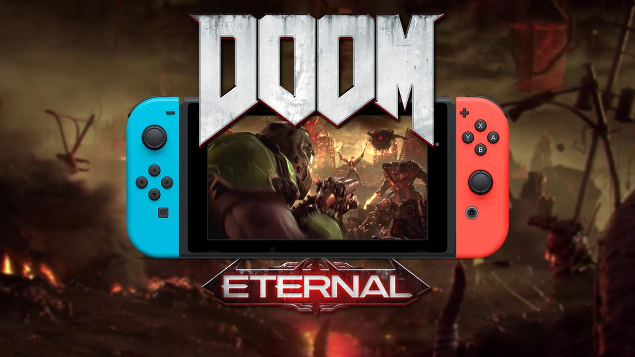 DOOM Eternal Disponibile ora su Nintendo Switch