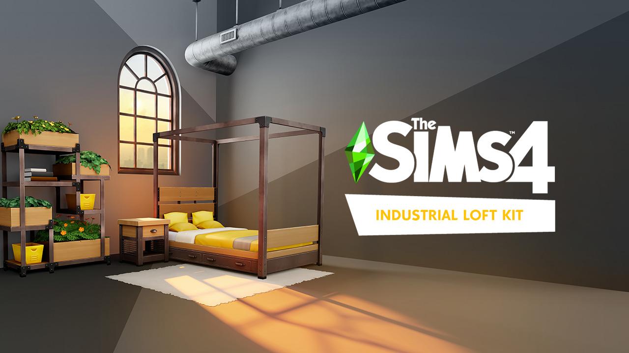 The Sims 4 Industrial Loft Kit è disponibile dal 26 agosto