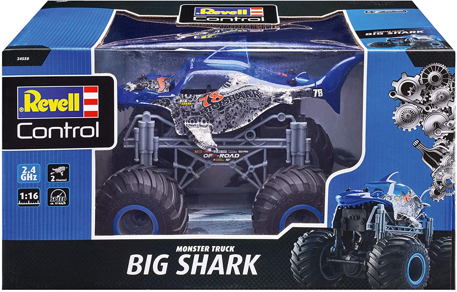 Revell Big Shark Monster Truck Recensione
