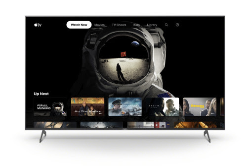 Sony lancia l'app Apple TV su una selezione di smart TV