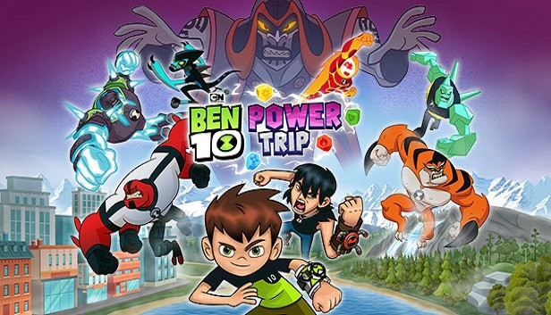 BEN 10: POWER TRIP, DISPONIBILE DA OGGI
