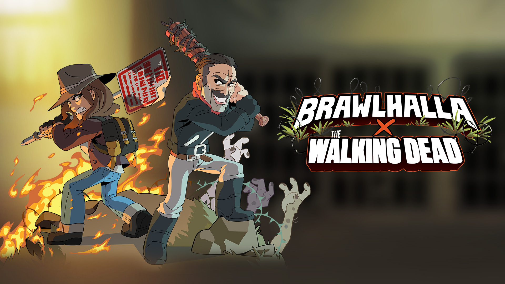 Brawlhalla: personaggi di The Walking Dead disponibili a fine mese