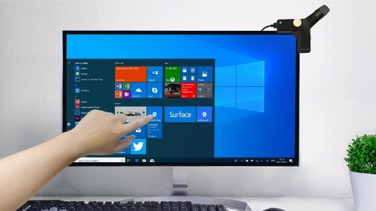 Come trasformale il monitor in uno schermo touch screen