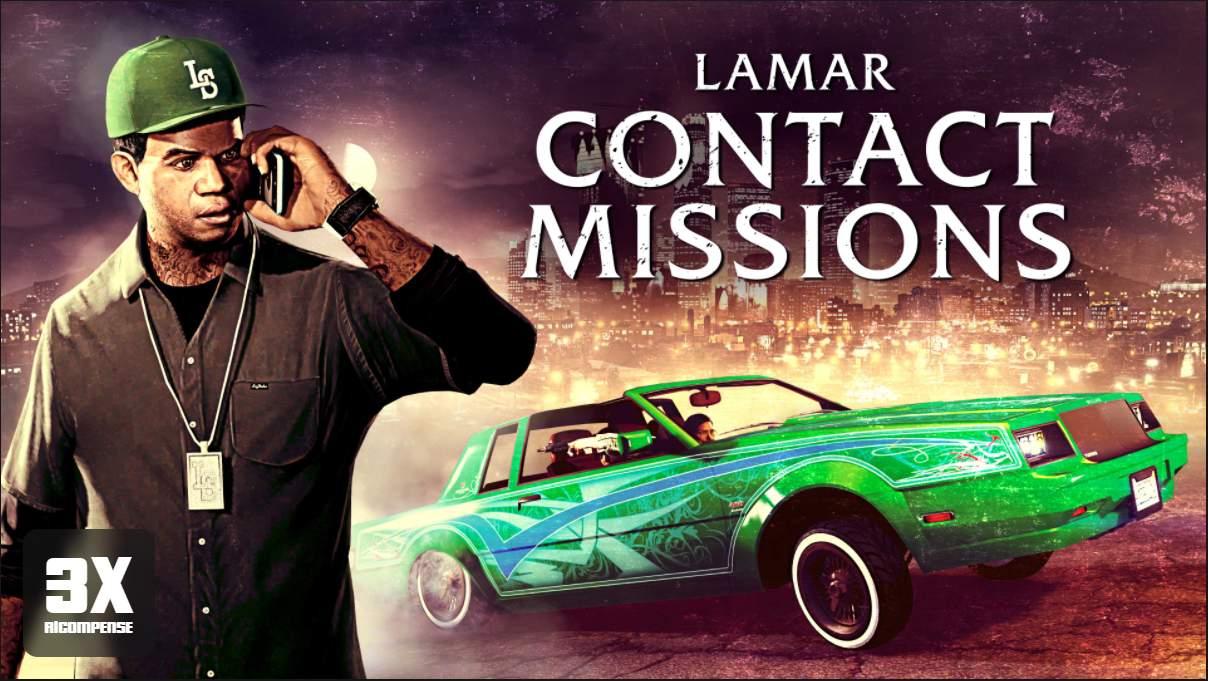 GTA Online: ricompense triple nelle missioni di Lamar e nelle gare terrestri
