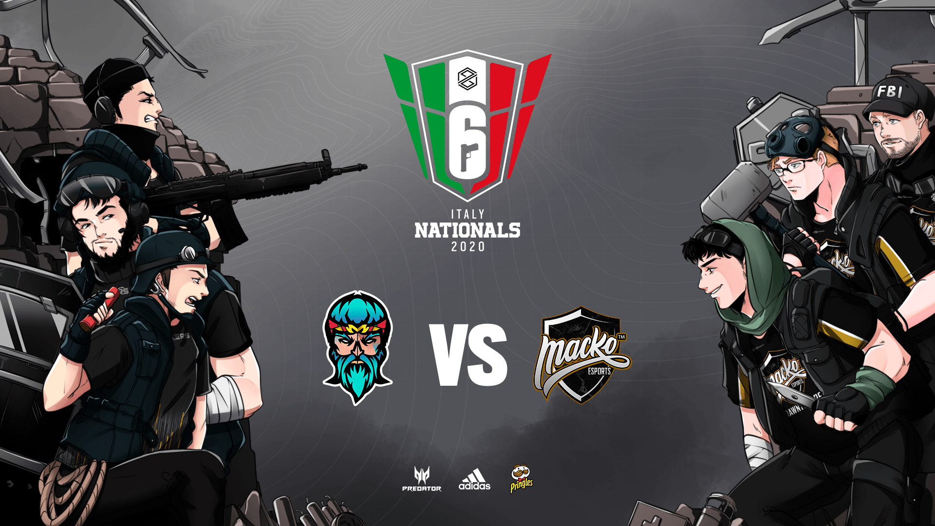 RAINBOW SIX SIEGE PG NATIONALS: FINALISSIMA DEL WINTER SPLIT IL 24 GENNAIO