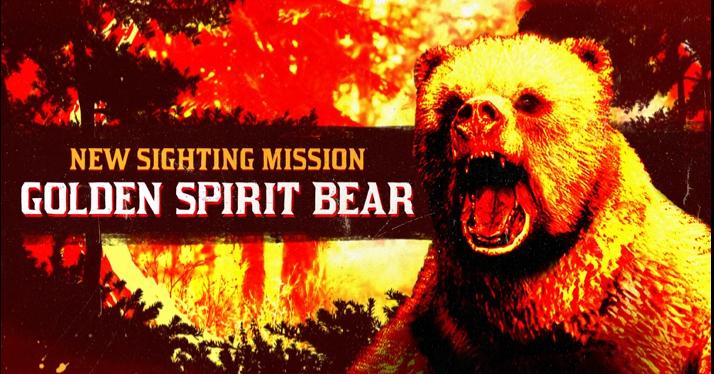 Red Dead Online: avvistato Orso Spirito Dorato nella Big Valley