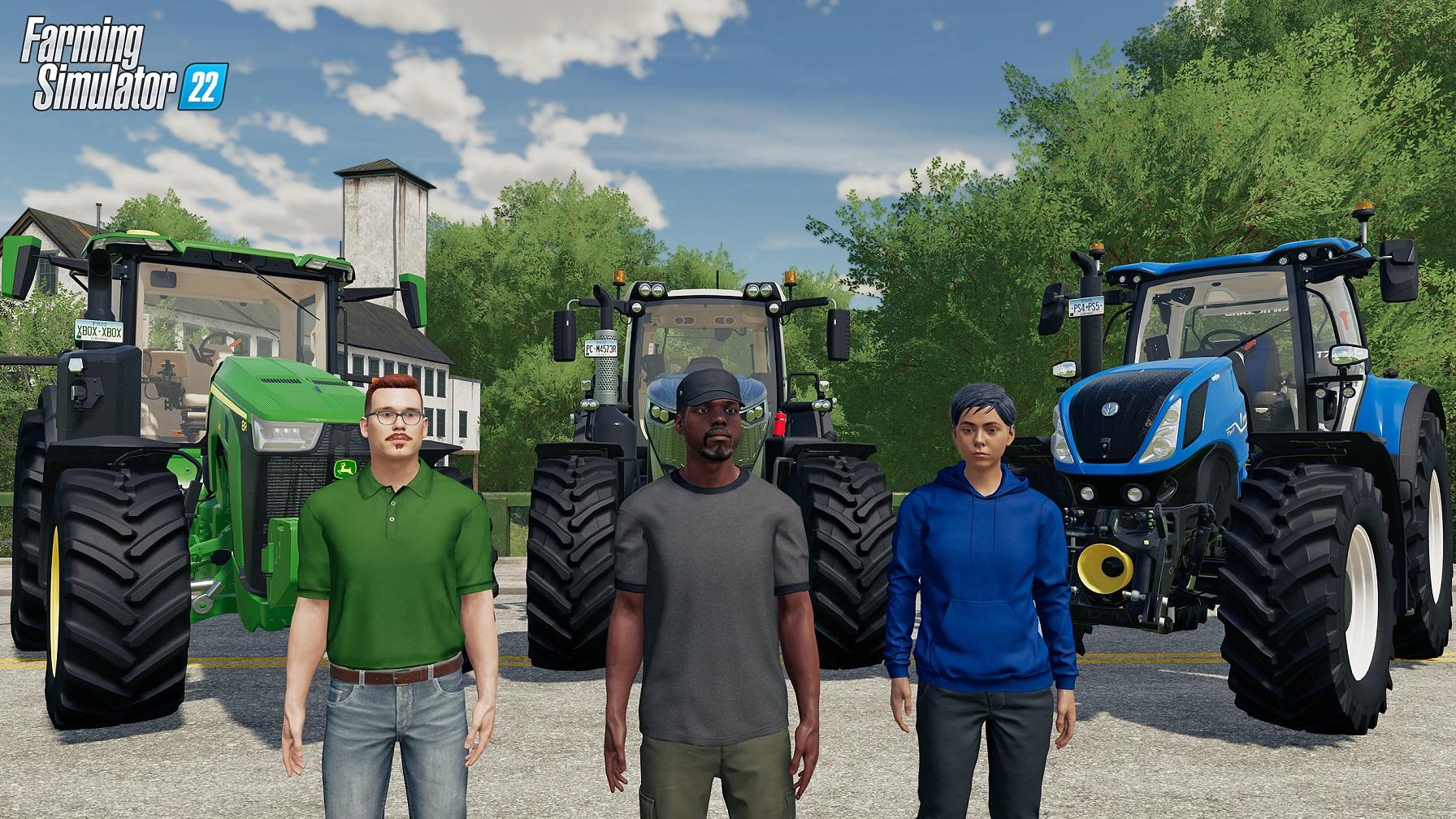 Farming Simulator 22 supporterà il Cross-Play