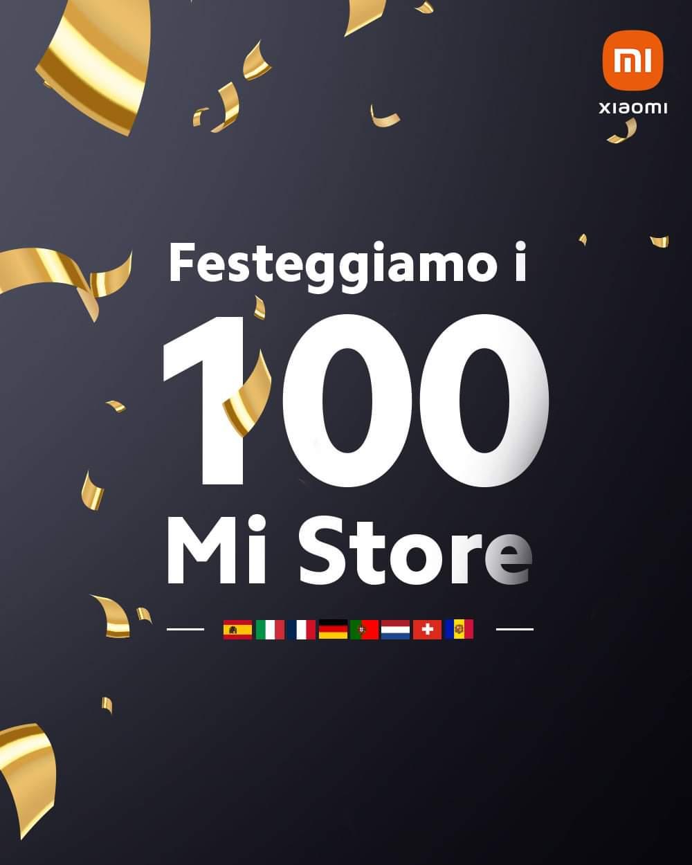 Xiaomi: 100 Mi Store aperti in Europa