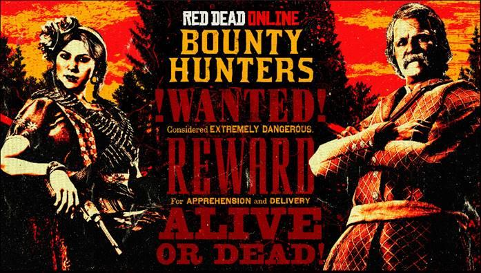 Red Dead Online: settimana dei Cacciatori di taglie, Bonus e Sconti speciali