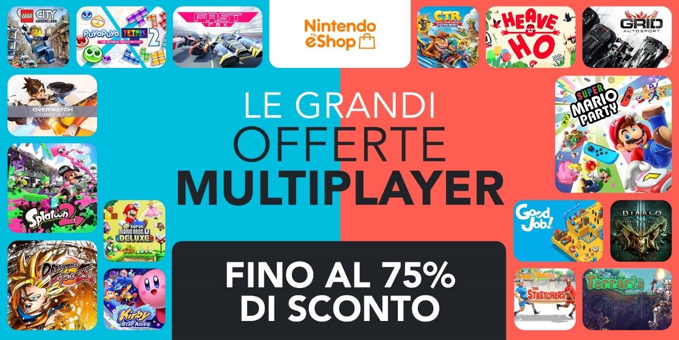Nintendo eShop Grandi Offerte Multiplayer